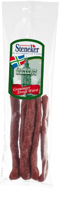 Steneker droge worst groningse knakkers 160 gram